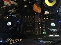 2x Pioneer CDJ1000MK3 + Behringer DJX750