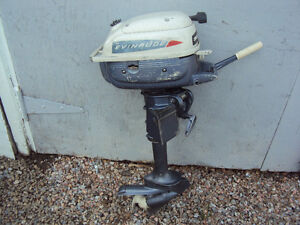 3 HP EVINRUDE OUTBOARD FOR SALE