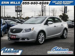 2016 Buick Verano Leather GroupLeather Sunroof Navigation Blueto
