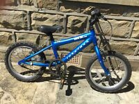 Ridgeback MX16 kids bike, 16 inch wheels, for boys or girls