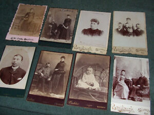 1800s cabinet cards London Ontario image 9