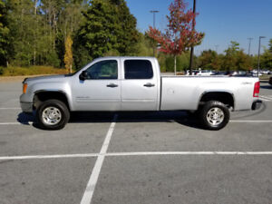 2010 GMC SIERRA 2500 SLE CREW CAB LONG BOX 4x4