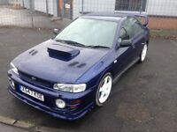 Spares or repairs engine knocking Subaru Impreza turbo registered as gl not wrx sti ra turbo 2000