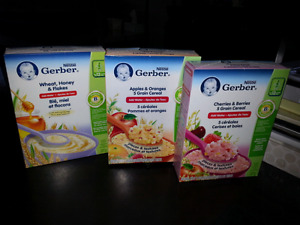 Free Gerber Baby Cereal for 12 month olds