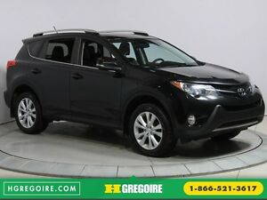 2013 Toyota Rav 4 Limited 4WD CUIR TOIT MAGS BLUETOOTH