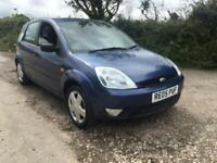 05 REG FORD FIESTA 1.4 NEW MOT ONLY 77000 MILES