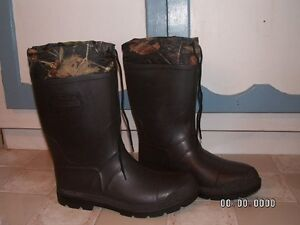 MENS KAMIK LINED RUBBER HUNTING BOOTS SIZE 12