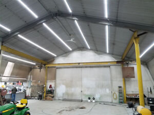 Unhappy with your Shop lighting? Try LED