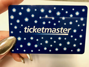 Ticketmaster Gift Card!