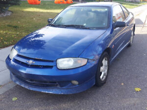 2004 Chevrolet Cavalier Coupe (2 door), w extra winter tires