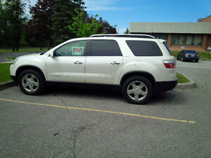 2008 GMC Acadia leather SUV, Crossover