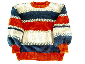LADY'S SWEATER - HANDKNIT - IMPORTED FRENCH MOHAIR YARN