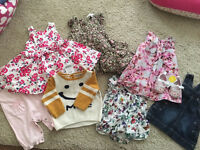 Baby girls bundle age 3-6 months
