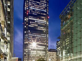 Fully Furnished - ( CANADA SQUARE - CANARY WHARF -E14) Office Space to Let in London