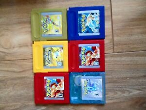 Jeux pokemon gameboy color
