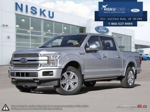 2018 Ford F-150 Platinum  - Leather Seats -  Cooled Seats