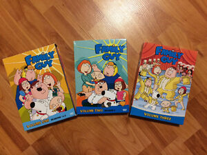 The Family Guy DVD sets