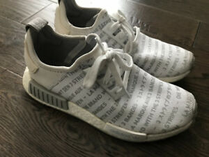 Fs: RARE  Adidas NMD whiteout R1 grey