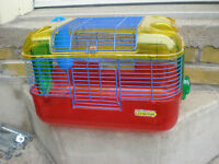HAMSTER CAGE LIKE NEW $8  519 729-5862