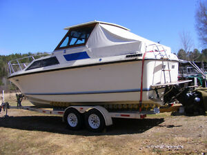26' Cruiser with 350 Mercruiser, Crown Trailer