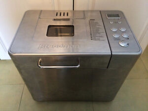 Like new stainless steel breadman bread maker Edmonton Edmonton Area image 1
