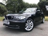 2010 10 BMW 1 SERIES 2.0 116D SPORT 5D 114 BHP DIESEL