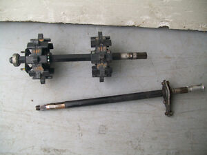 Ski Doo drive axle, counter shaft & sprockets 800 H.O.