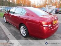 LEXUS GS 300 SE, Red, Auto, Petrol, 2005 KEYLESS ENTRYGO