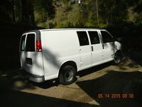 2002 Chevrolet LARGE BOX VAN