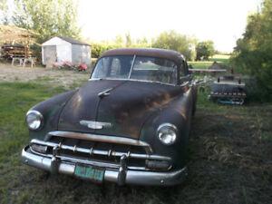 1953 Chevrolet 4 door Sedan for sale.