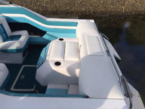 20' Grew 4.3L Cabin Cuddy inboard/outboard with trailer