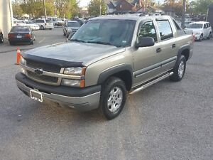 CHEVROLET AVALANCHE 4X4 *** FULLY LOADED Z71 *** CERT $8495