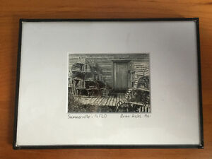 Brian Ricks Framed photograph