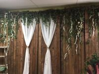 Vintage / Rustic Backdrop Rental