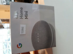Google home mini speaker inteligent