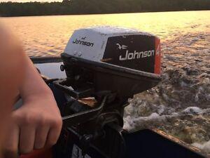 Johnson 4hp outboard motor