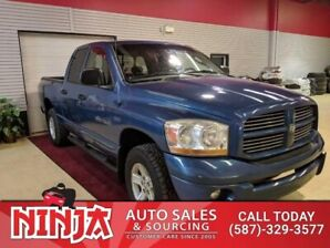 2006 Dodge Ram 1500 Sport  Heated Leather DVD New Tires Safetied