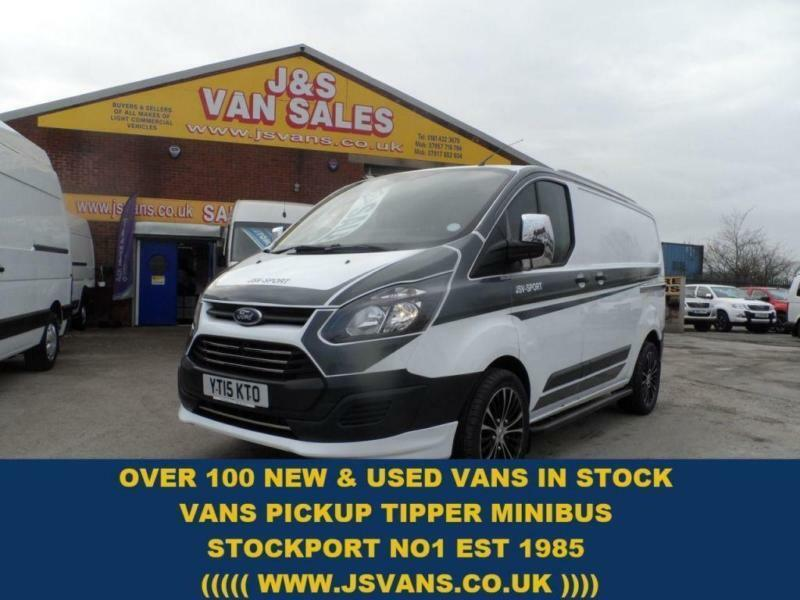 2015 15 FORD TRANSIT CUSTOM FORD TRANSIT CUSTOM SWB DIESEL (FULL M SPORTS LOOKS