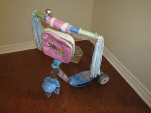 Kids / Child Scooter - Cinderella , three ( 3 ) wheel