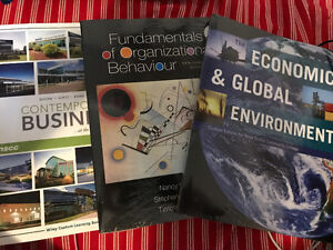 NSCC Business Administration year 1 textbooks