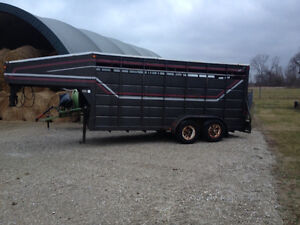 Stock or horse trailer