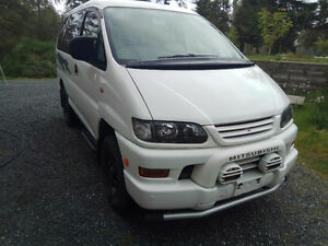 1998 Mitsubishi Delica Space Gear 4x4 High Roof - Mint