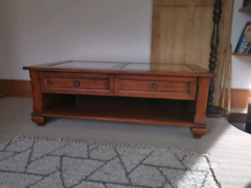 Solid wood Coffee table with draws