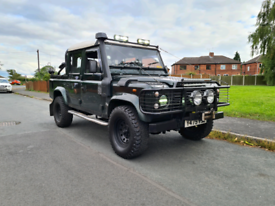 FOR SALE SWAP PX TOMB RAIDER LAND ROVER DEFENDER 110 TD5 PICK UP