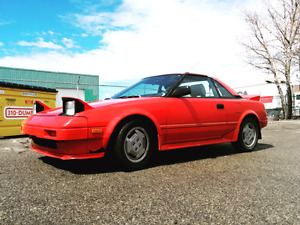 1986 MR2 -- LOW KM