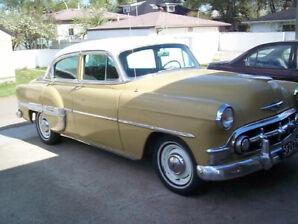 1953 Chevy Bel Air 4-Door Project Car