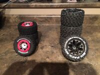 RC tires new condition