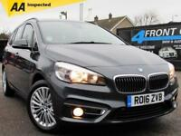 2016 BMW 2 SERIES 218I LUXURY GRAN TOURER AUTOMATIC 7 SEATER PETROL 5 DOOR HATC