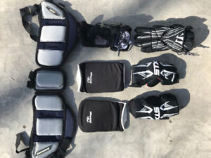 Lacrosse protective gear - tyke sized - barely used