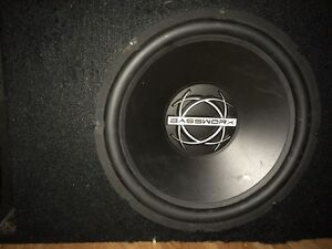 13' Bassworx sub in ported bassworx box  sell or trade